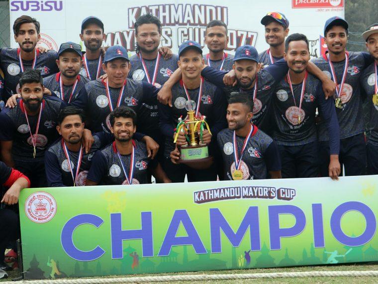 Police won the Mayor's Cup title - Nepal Samaj