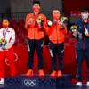 टोकियो ओलम्पिकमा आयोजक जापान १० स्वर्णसहित शीर्ष स्थानमा