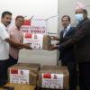 Sino Nepal Media Society provides 6,000 masks to RSS